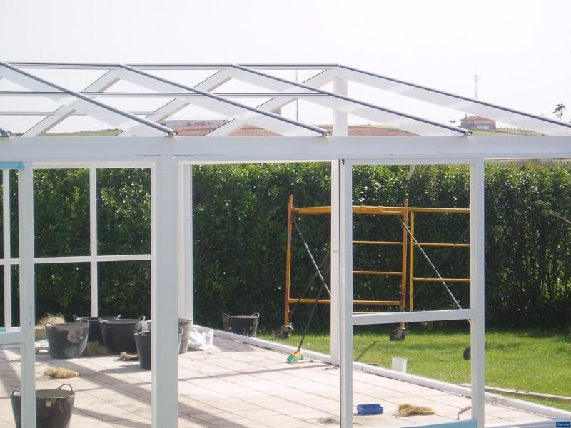 Cerramientos para patios piscinas terrazas ofertas - Estructuras de aluminio para terrazas ...