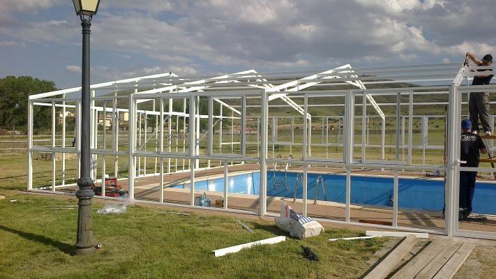 Cerramientos para patios piscinas terrazas ofertas - Cerramiento para piscinas ...