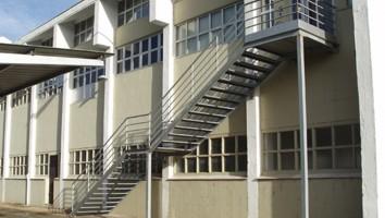 Escalera metalicas diseo good escaleras with escalera - Estructura caracol ...