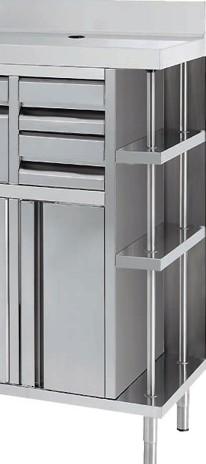 Muebles a medida en acero inoxidable metalicas gascon for Muebles en acero inoxidable bogota