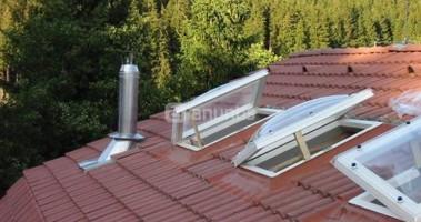 Claraboya tejado materiales de construcci n para la for Ventanas para techos planos argentina